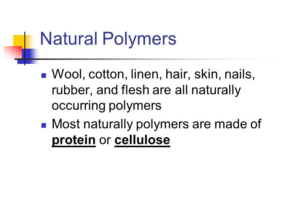 cotton natural polymer