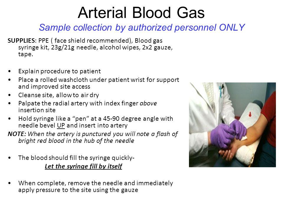 arterieel bloedgas