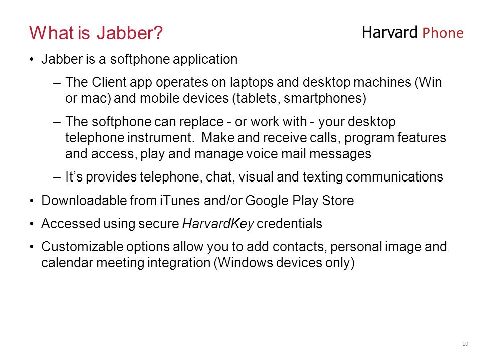what is jabber