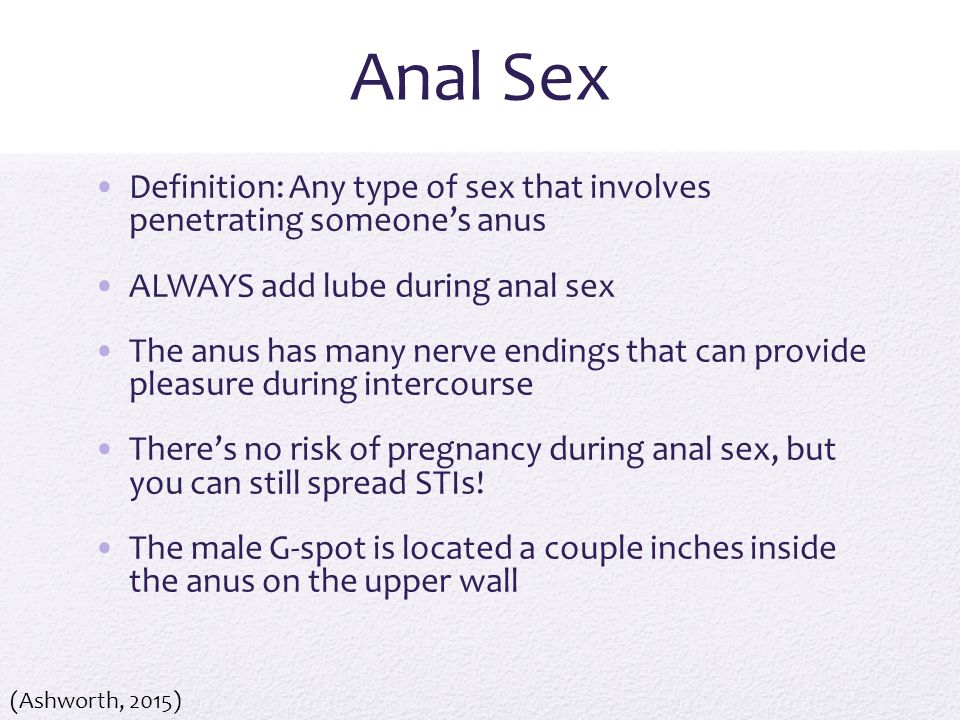 People giving anal sex