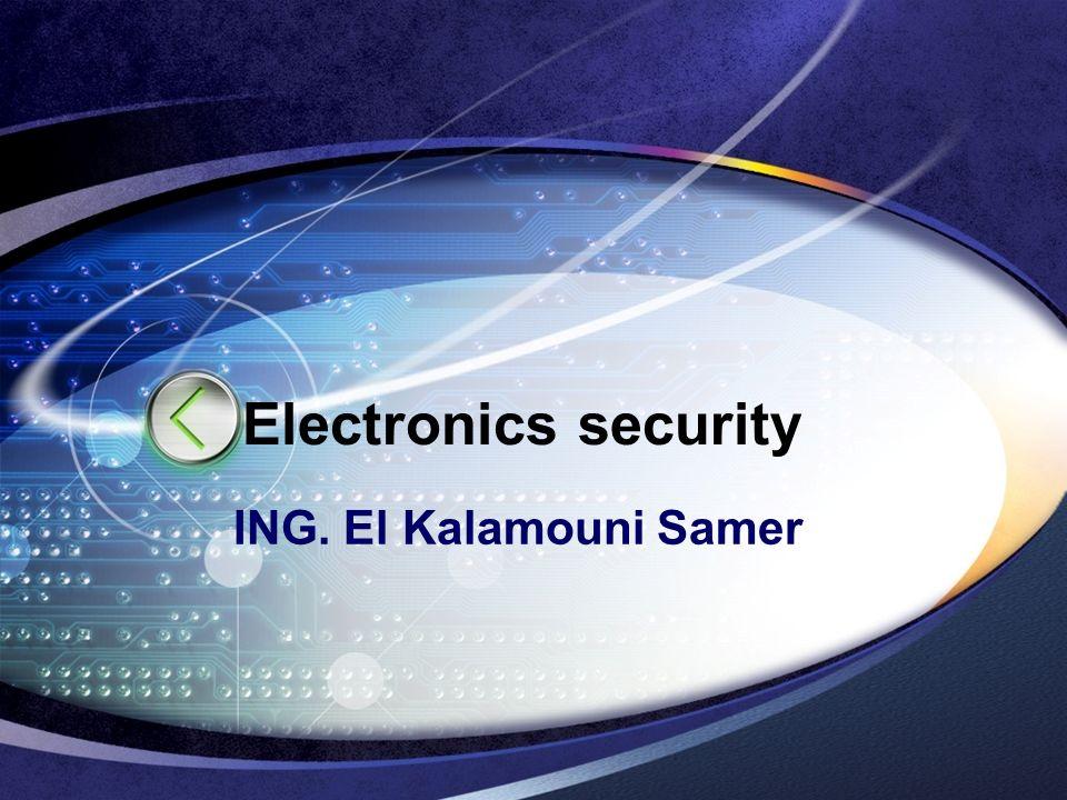 LOGO Electronics security ING. El Kalamouni Samer