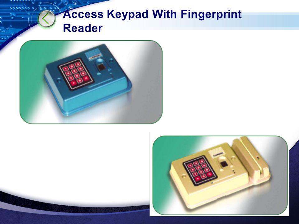 LOGO www.themegallery.com Access Keypad With Fingerprint Reader