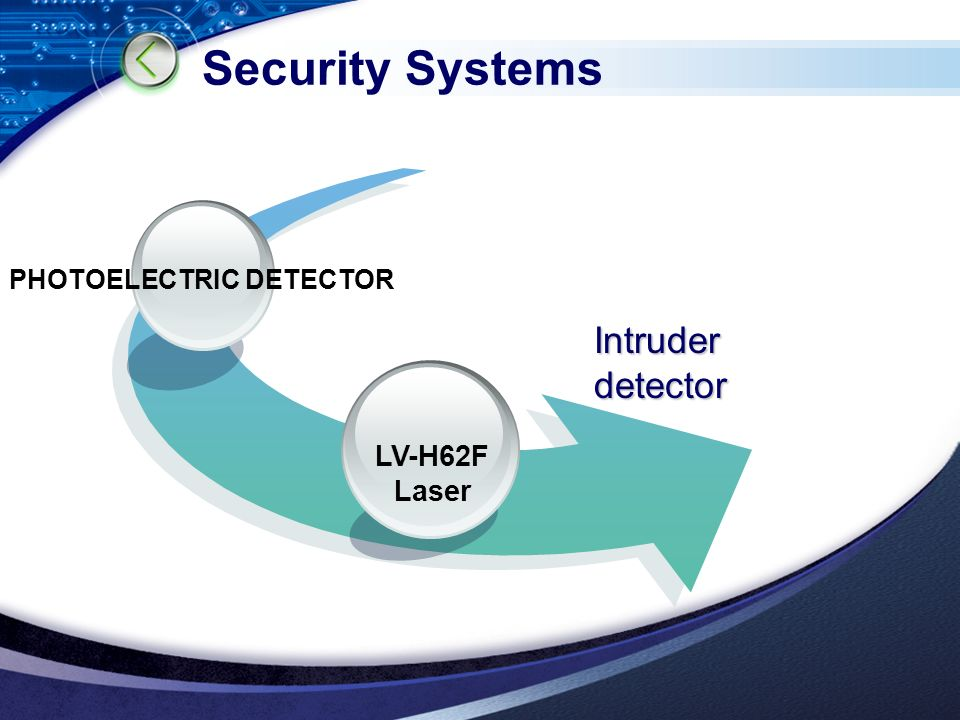 Security Systems Intruder detector PHOTOELECTRIC DETECTOR LV-H62F Laser