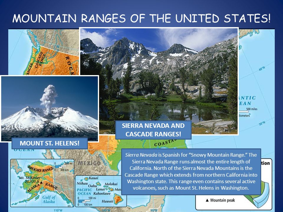 PHYSICAL FEATURES OF THE UNITED STATES APPALACHIAN MOUNTAIN - Physical features in the united states