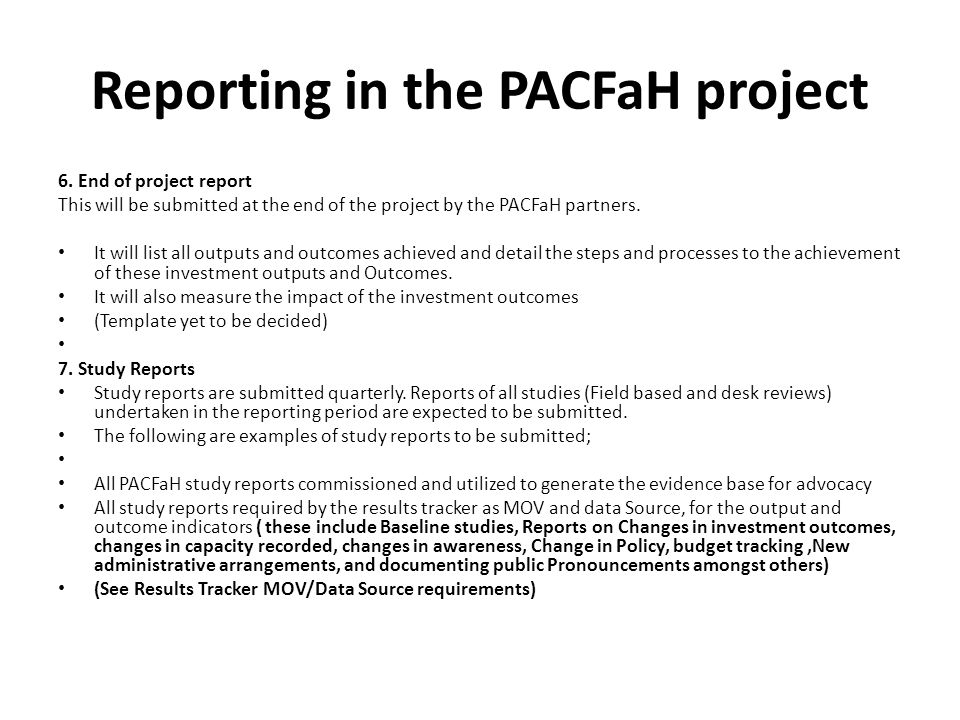 Project Quarterly Report Template | Pacfah Me Tools And Reportng Timelines Jayne Arinzeegemonye Ppt