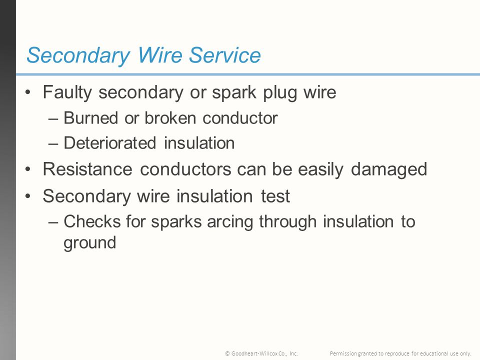35 Ignition System Diagnosis, Testing, and Repair Chapter. - ppt ...