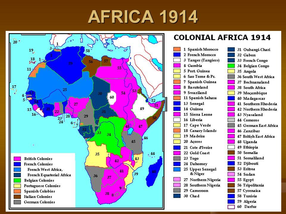 AFRICA 1914
