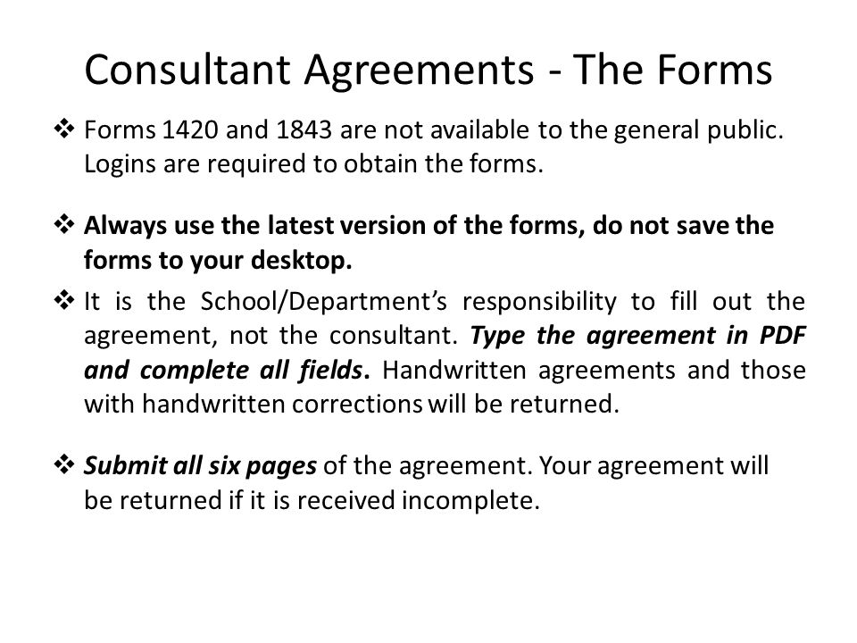 Consultant Agreement » Consulting Agreement - Consulting Contract