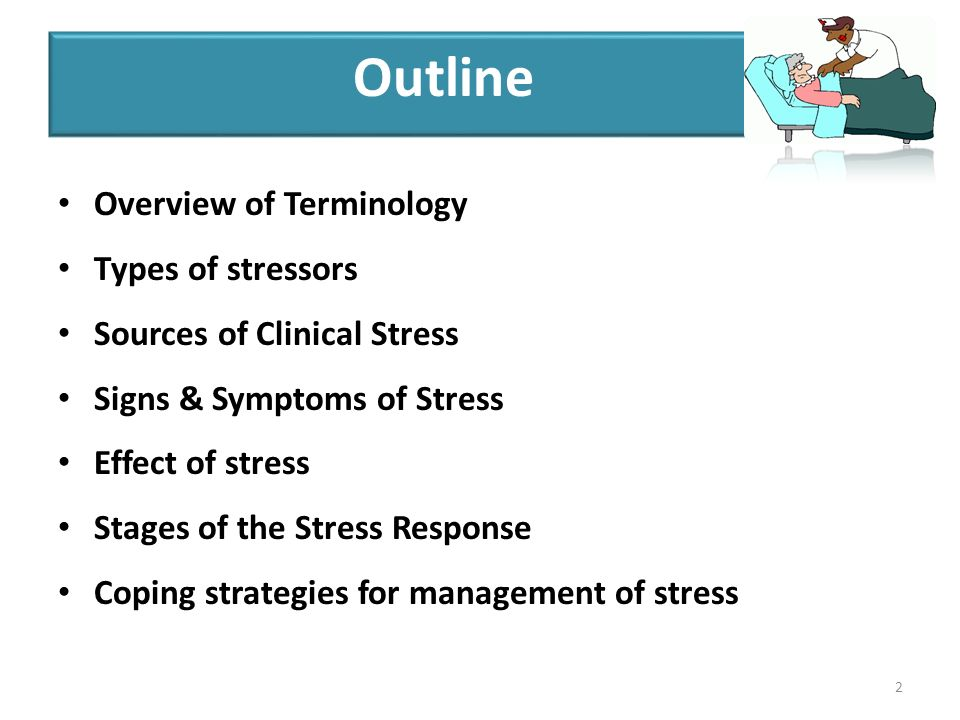 an overview of stress stressors and stress management techniques Stress management techniques a big difference in how we feel and approach the stressors we and practice of stress management, third.