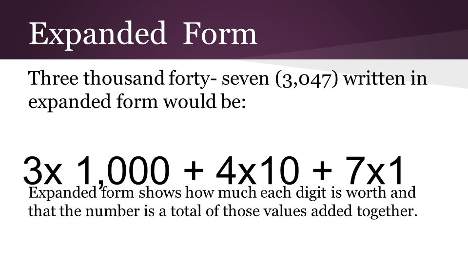 Today We Will Name Decimal Fractions In Expanded Unit And Word