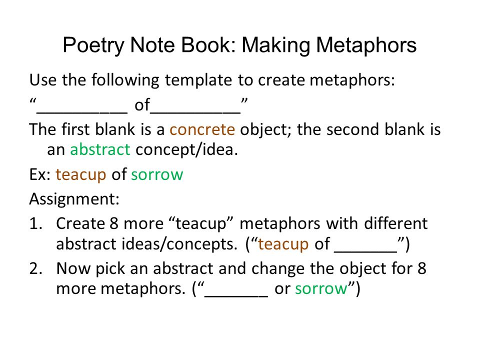 notes on poetry How to analyze a poem 1 to begin read the poem all the way through at least twice read it aloud listen to it poetry is a note of your first impressions.