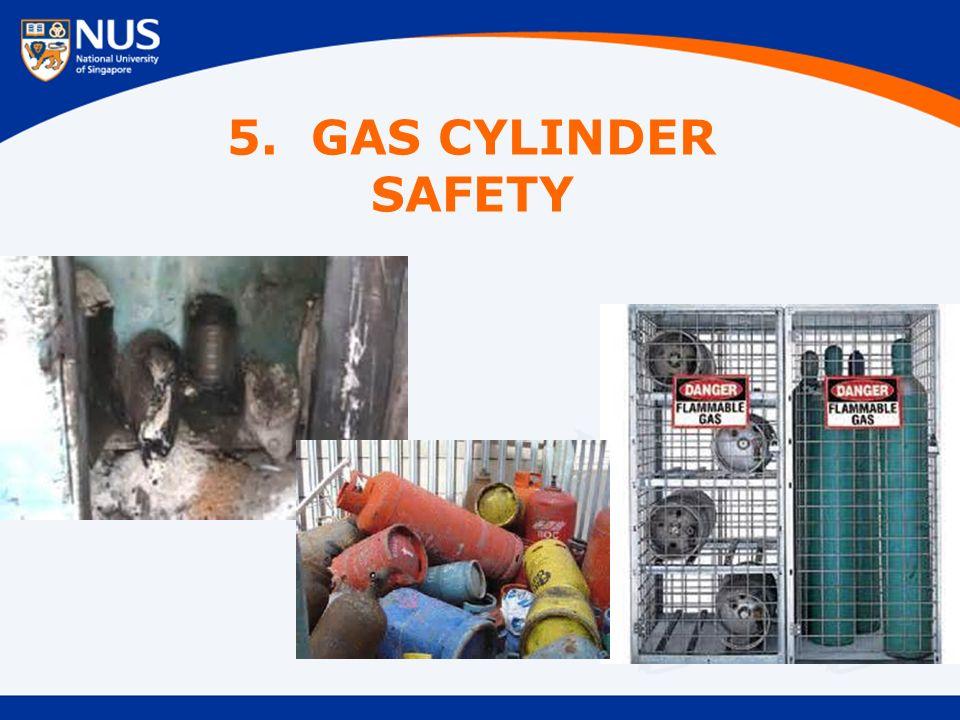 5. GAS CYLINDER SAFETY