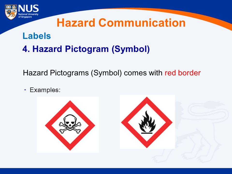 Hazard Communication Labels 4.