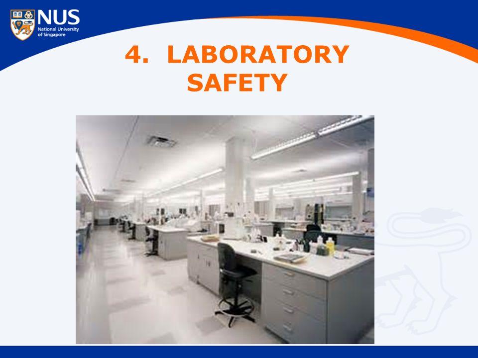 4. LABORATORY SAFETY