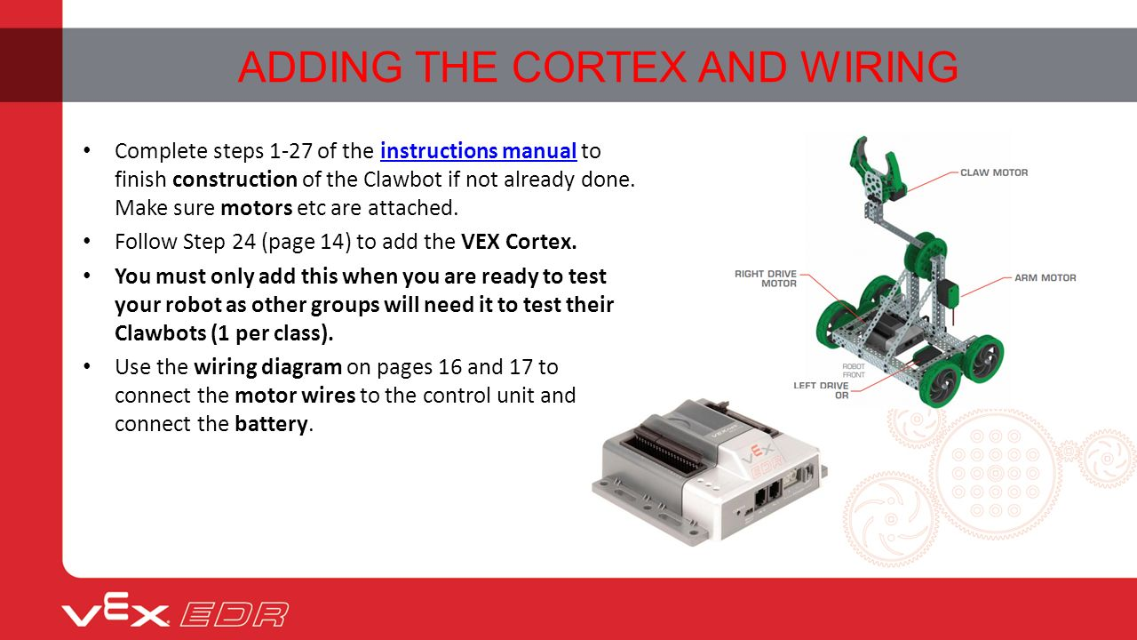 slide_5 adding the cortex and testing lesson 03 objectives for today by  at virtualis.co