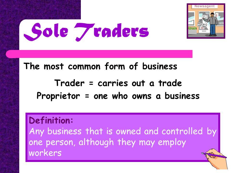 ILI AYB LTI LIABILITY. Co-operatives Sole Proprietor / Sole Trader ...