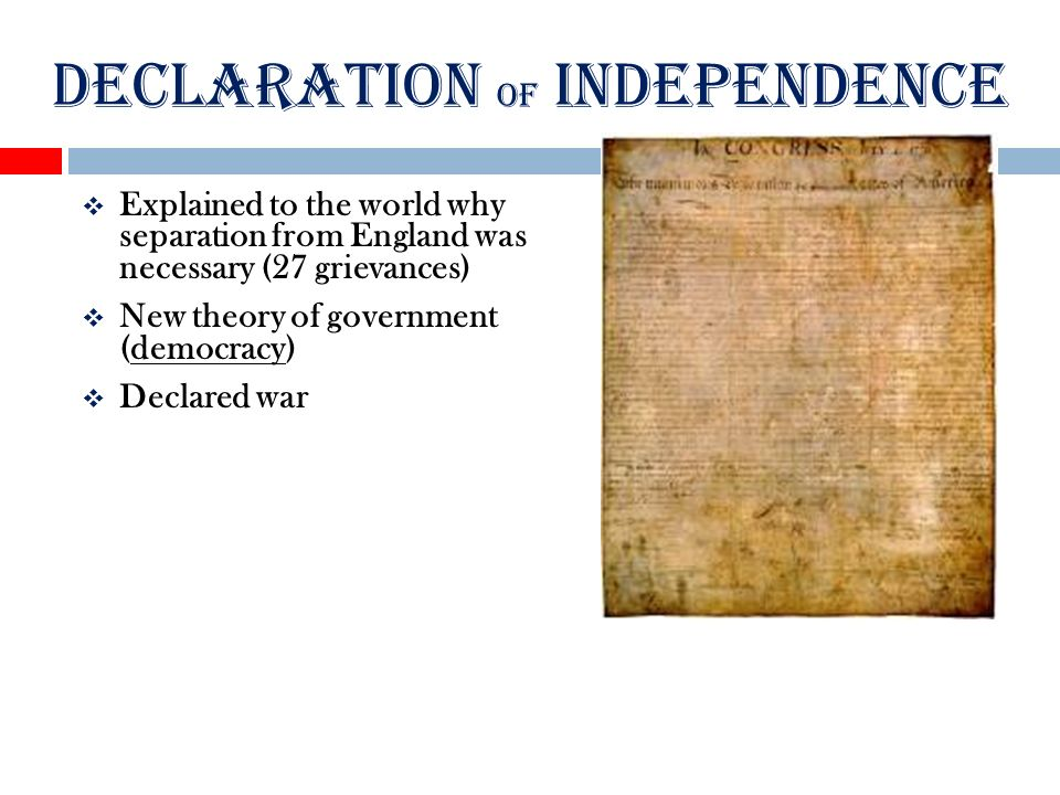 explain why the declaration of independence The declaration of independence is one of the world's most important documents in it our forefathers demonstrate to their british rulers that the american colonies should be.