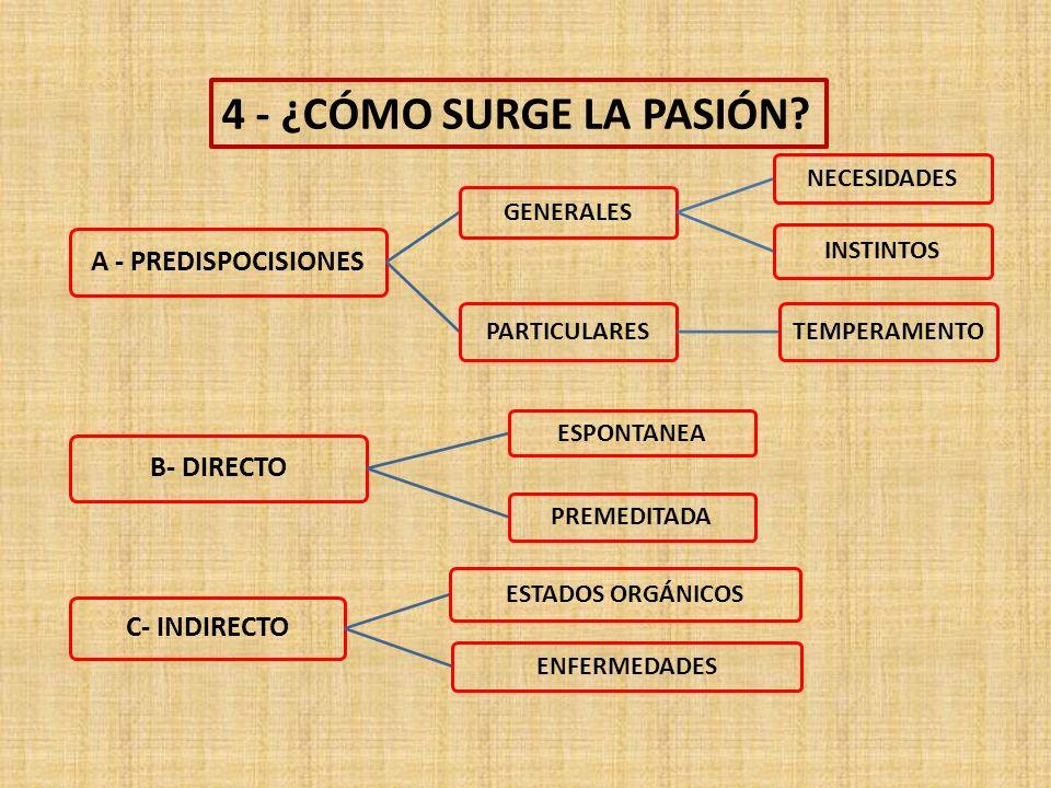 4 - ¿CÓMO SURGE LA PASIÓN.