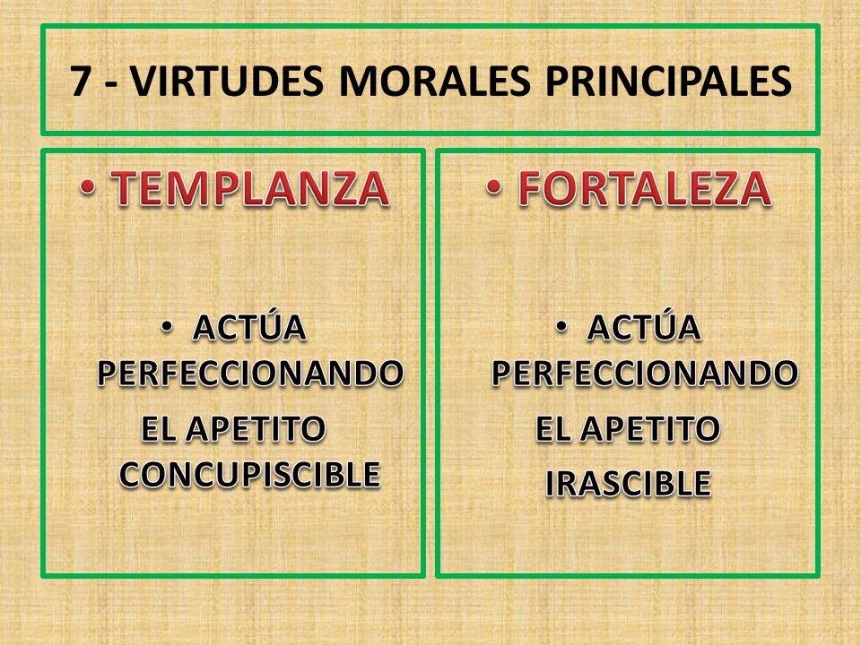 7 - VIRTUDES MORALES PRINCIPALES
