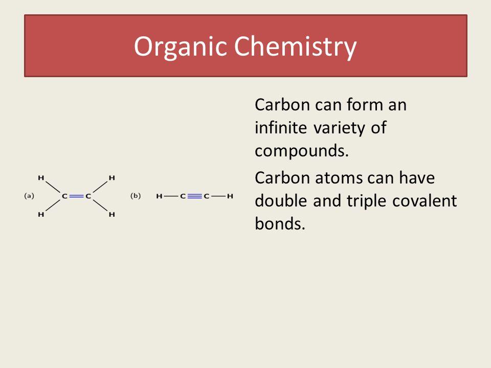 Organic Chemistry The magic of the carbon atom. Organic Chemistry ...