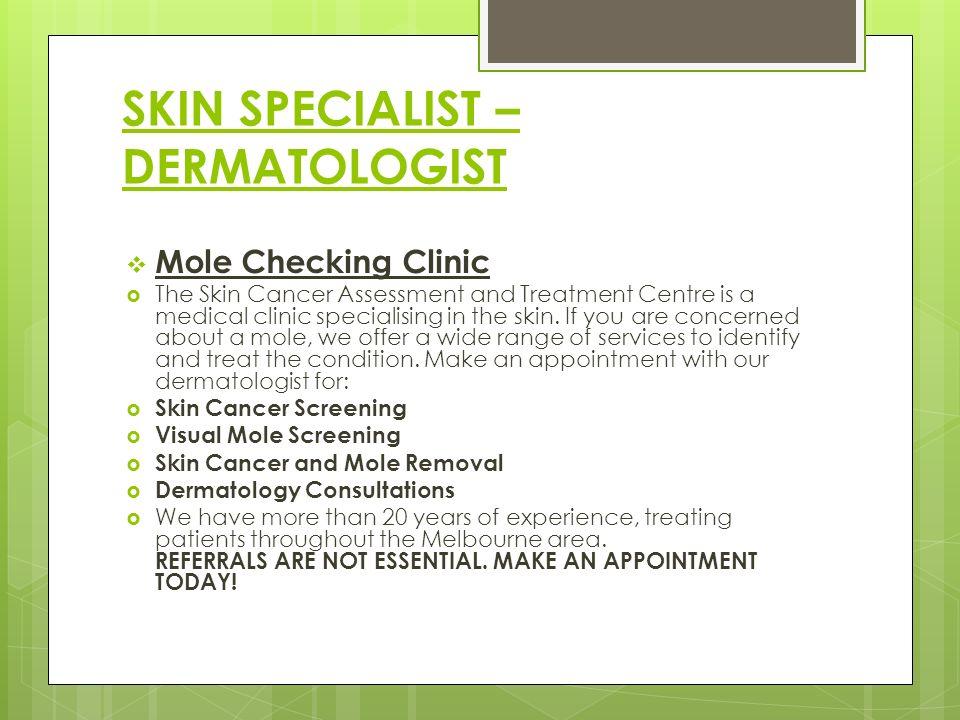 Skin Cancer Specialist Norwich