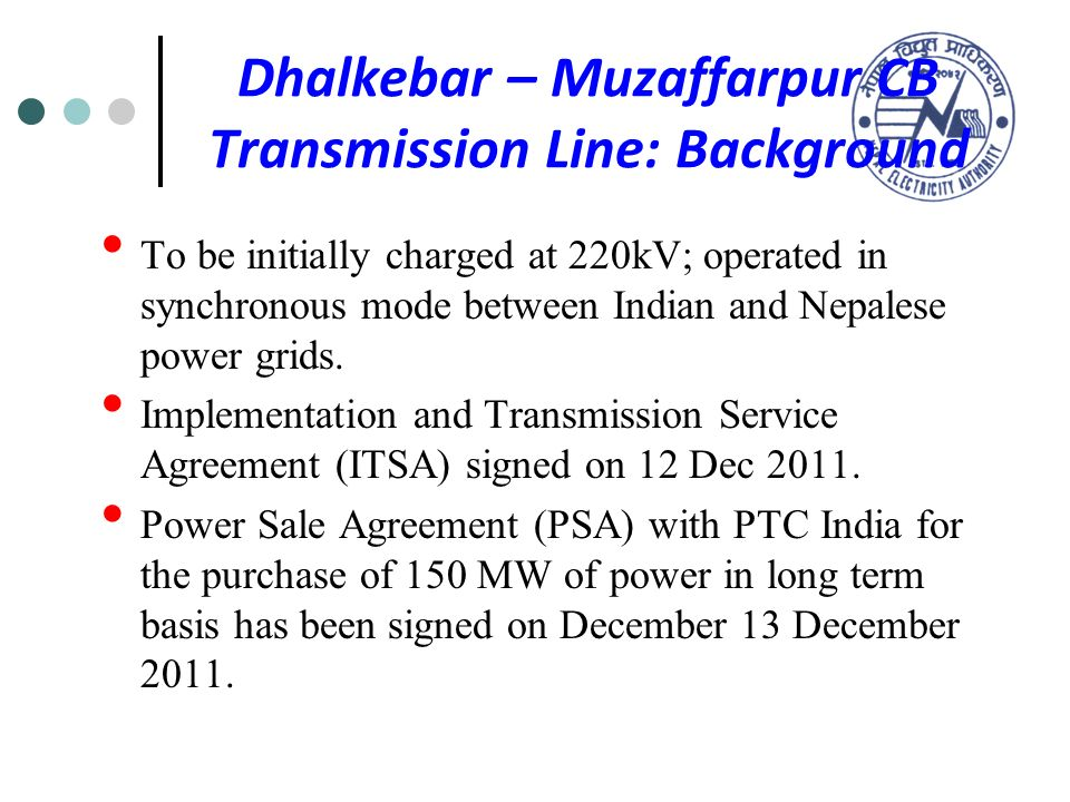 Latest Developments In Nepal Power Sector Including The Status Of