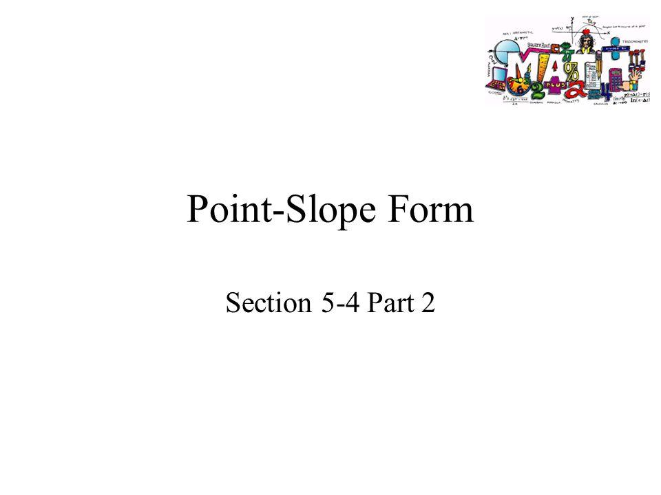 Point Slope Form Quiz Pdf