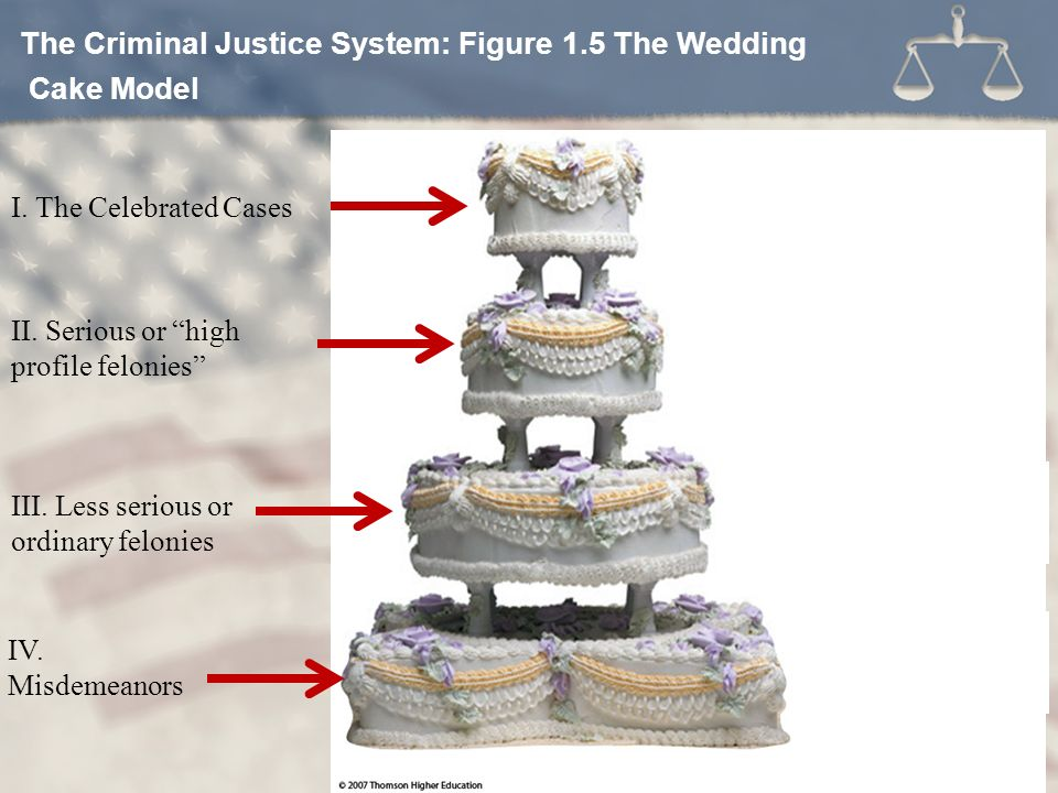 Criminal Justice Today Mr Gollihue Chapter 1 Ten Most Dangerous The Wedding Cake Model Of Process System Irwin