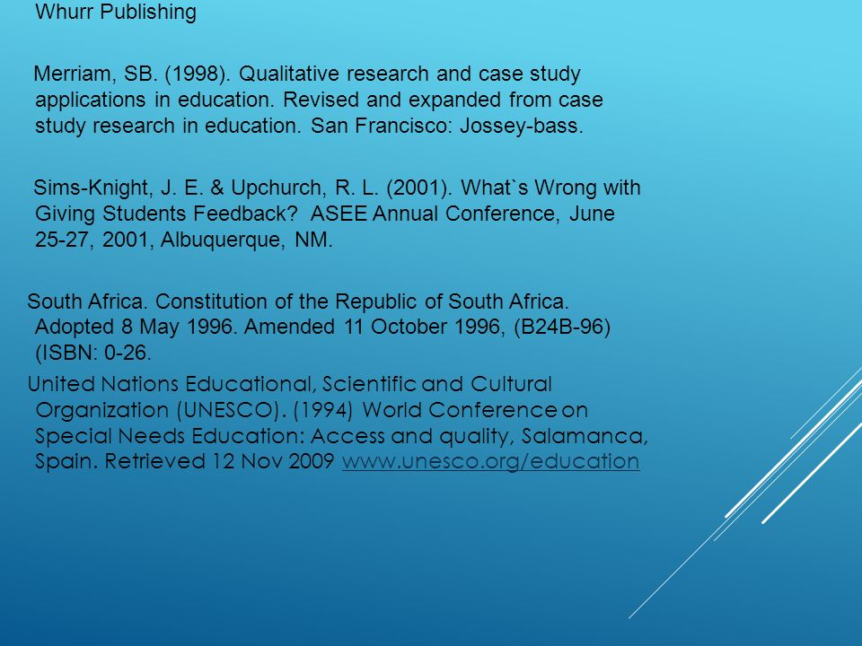 qualitative research and case study applications in education This study reports and documents an analysis of responses of three leaders in higher education regarding leadership at their level all the leaders were selected from a medium sized australian university the responses received from the leaders were analysed in.