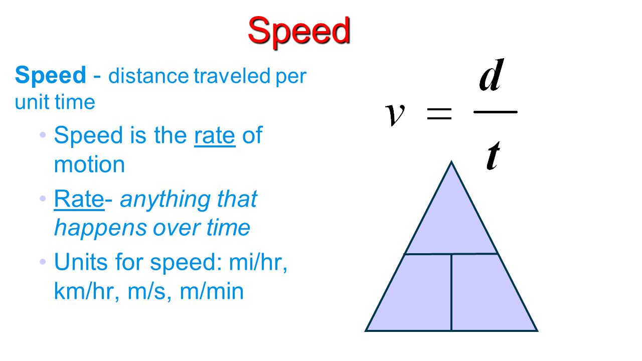 exercise 1 speed and velocity Experiments on the speed of light next: many experiments were stimulated to measure the velocity of the earth through the ether exercise 14 what is the.