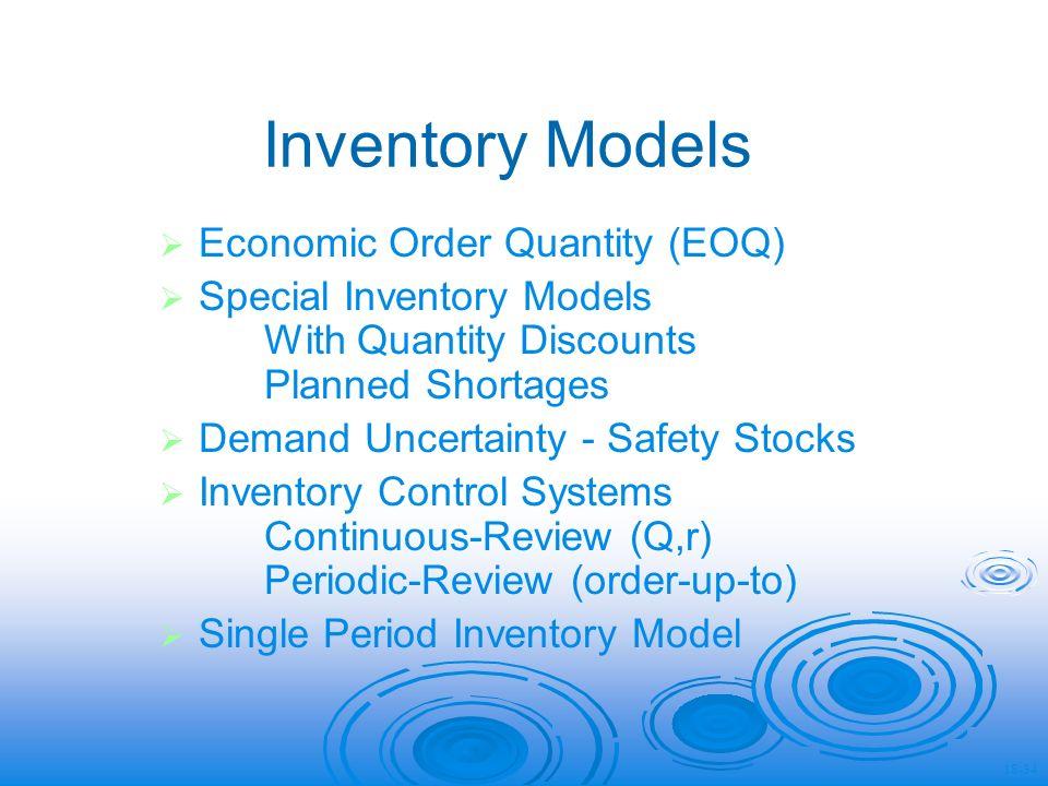 stocks inventory