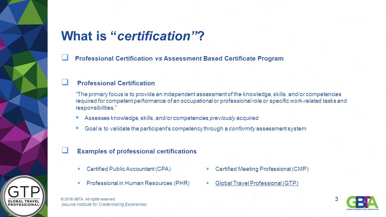 Global travel professional gtp certification matt konetschni what is certification 1betcityfo Choice Image