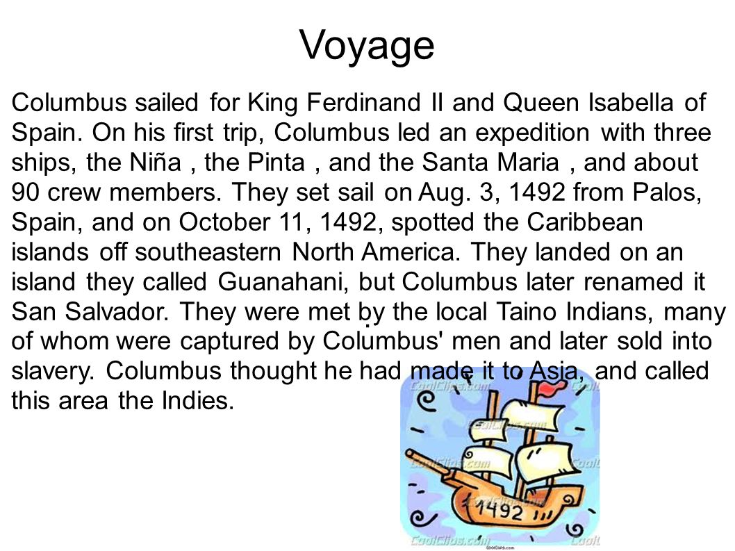 christopher columbus letter to ferdinand and isabel regarding the fourth voyage Colonists : christopher columbus, first letter to luis de santangel regarding the first voyage (1493) christopher columbus, letter to ferdinand and isabella regarding the fourth voyage (1503.