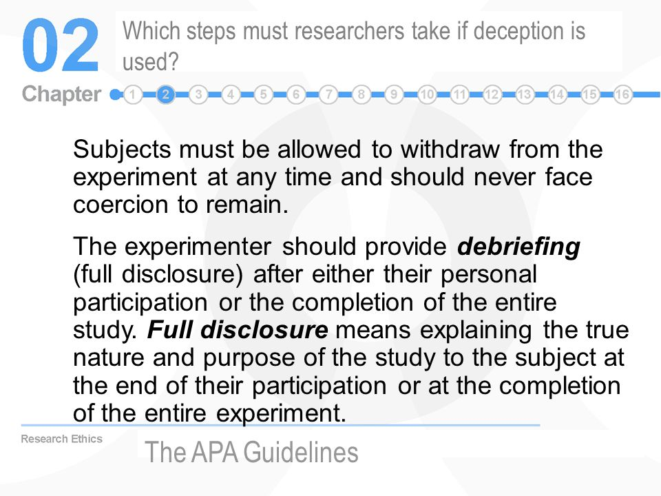 apa guidelines for research