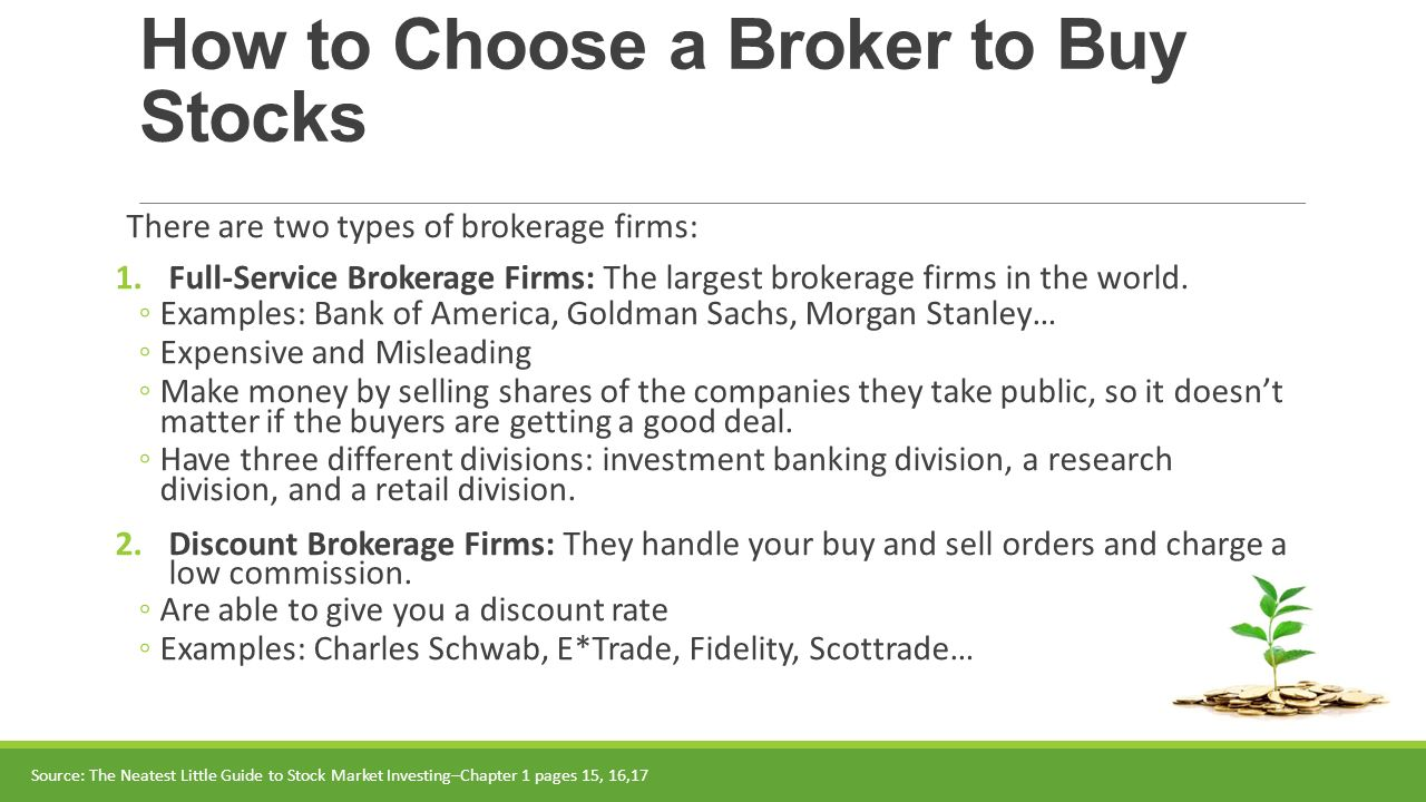 8 How To Choose A Broker To Buy Stocks
