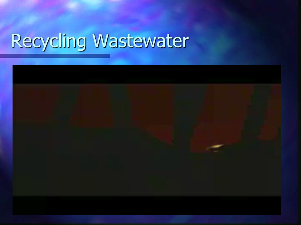 Recycling Wastewater