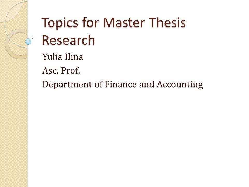 Dissertations Topics 2014-2015 - uniroma2it