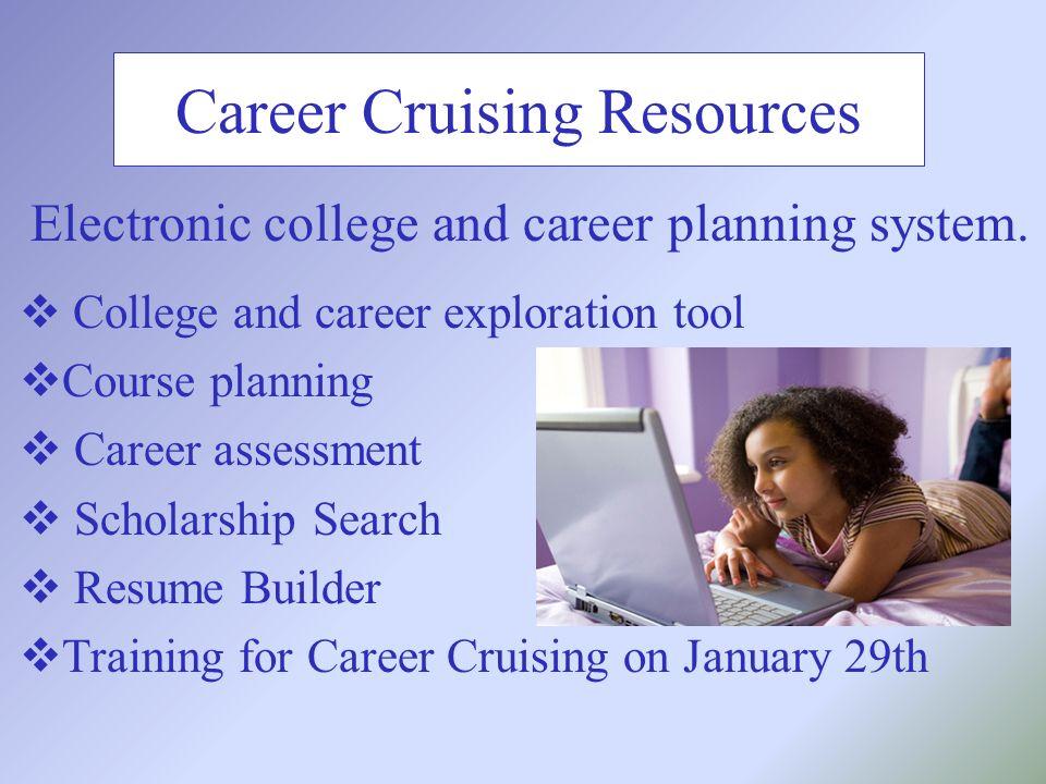 15 career cruising