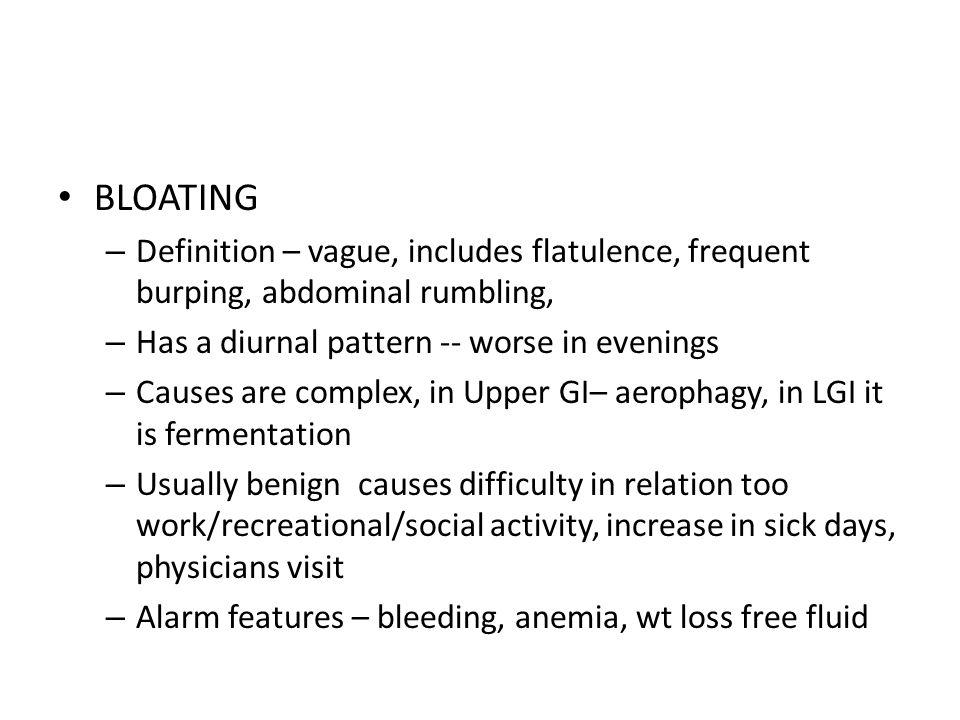 26 BLOATING U2013 Definition ...