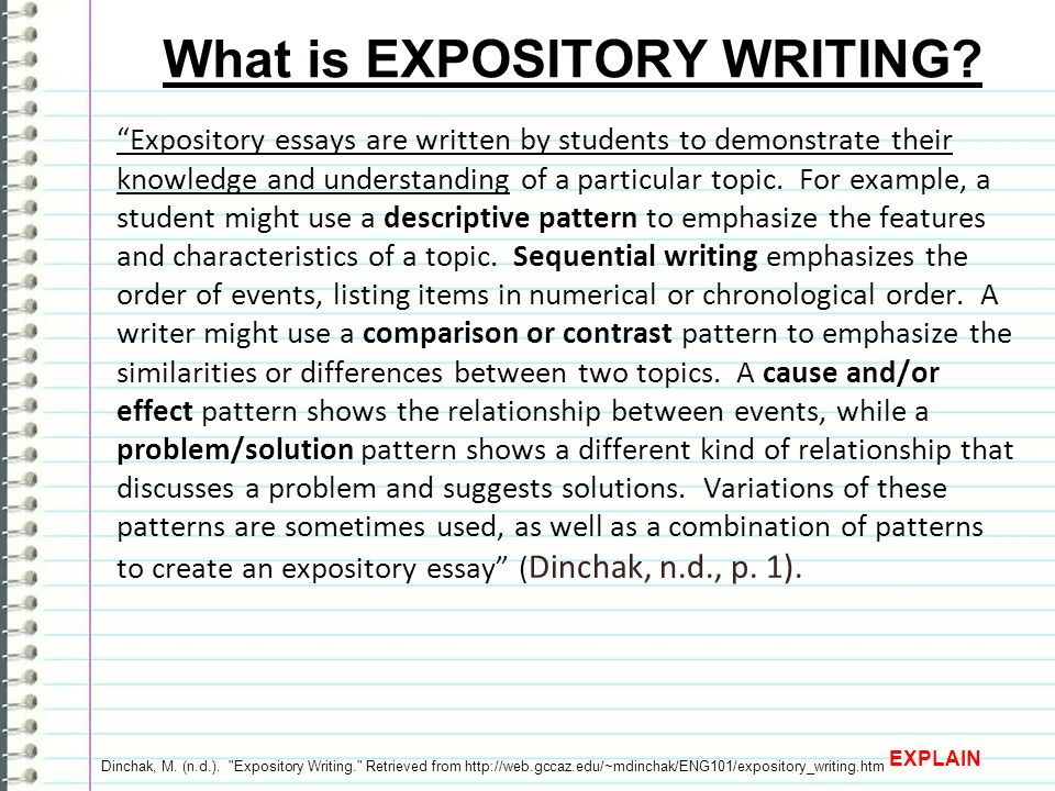 "expository tasks expository tasks engage knowwant to know learned  5 ""expository essays"