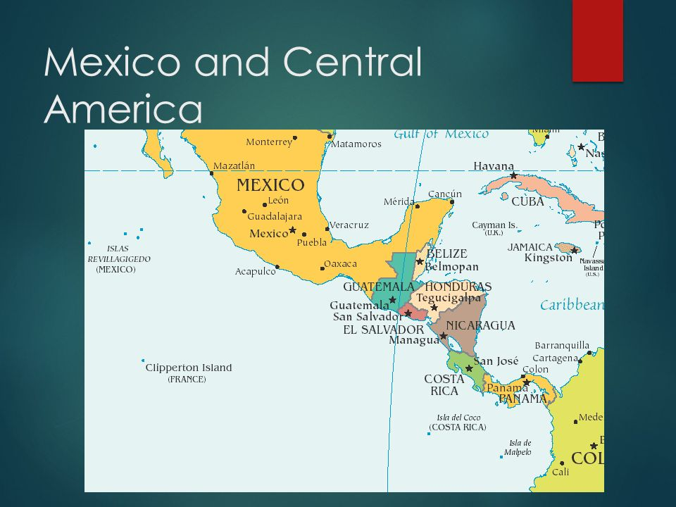 Latin americas physical geography eq what are characteristics of 5 mexico and central america sciox Images