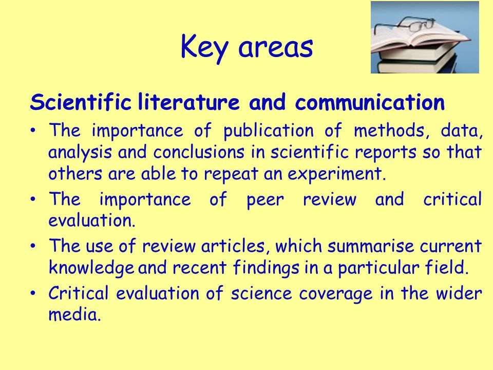 the importance of communication and collaboration in scientific research projects International scientific collaboration—where scientists work with their personnel available to conduct scientific research and technological.