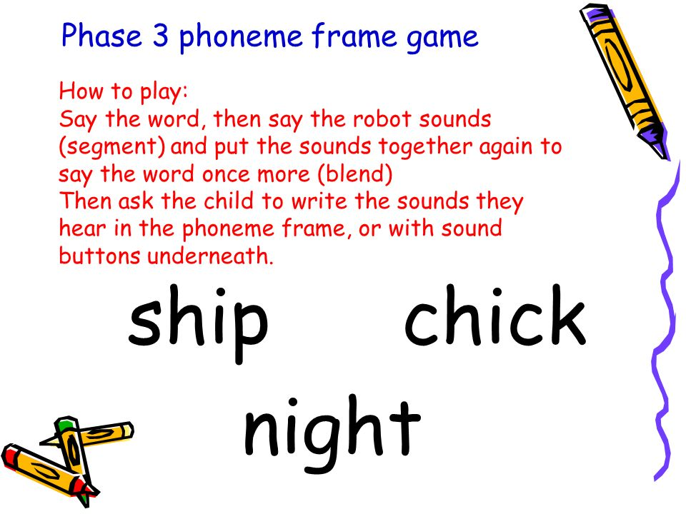 Phase 3 Phoneme Frames - Page 5 - Frame Design & Reviews ✓