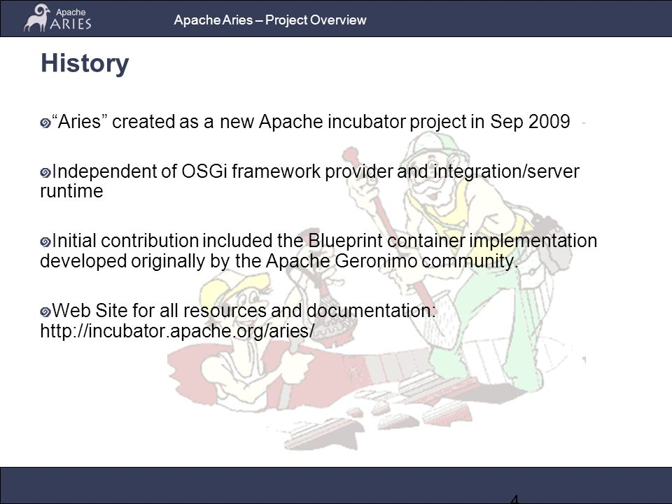 Apache aries an open source project for enterprise osgi 4 apache malvernweather Image collections