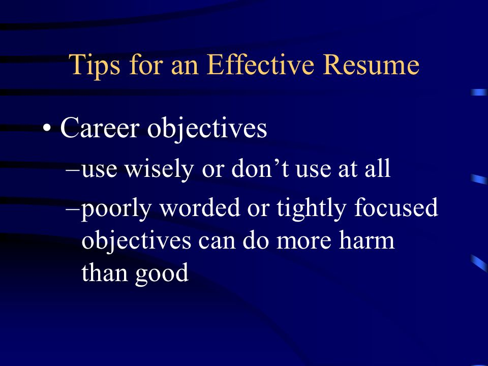 Ag Employability Skills Resumes Tips & Mistakes. Tips For An