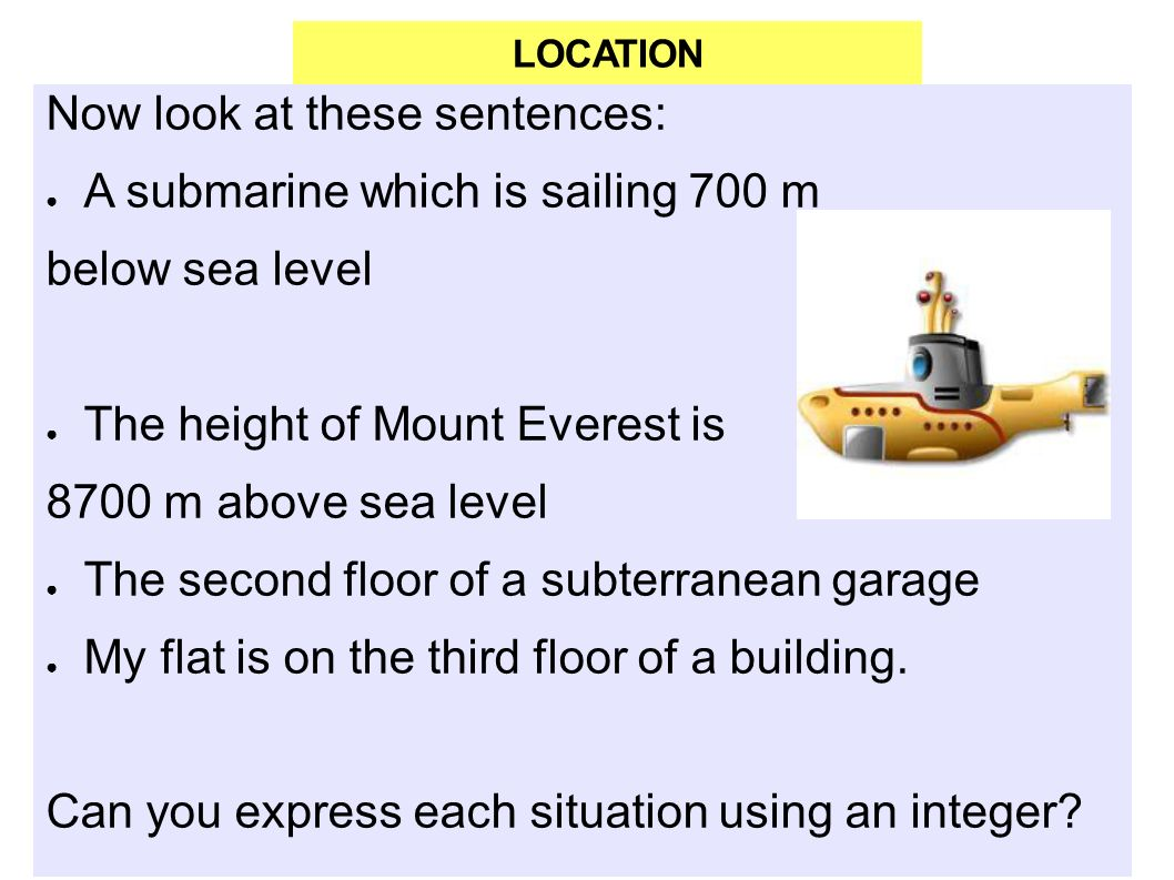 UNIT INTEGERS WHAT ARE INTEGER NUMBERS In Mathematics The - My location sea level