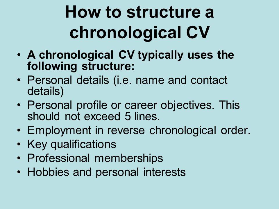 resume format guide reverse chronological functional