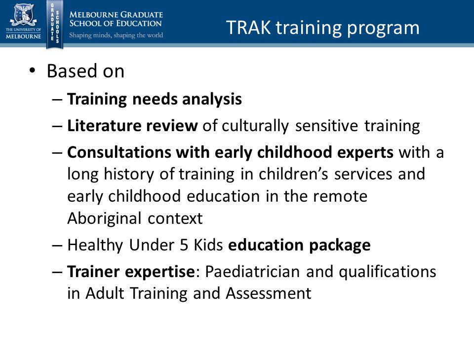 literature review training evaluation