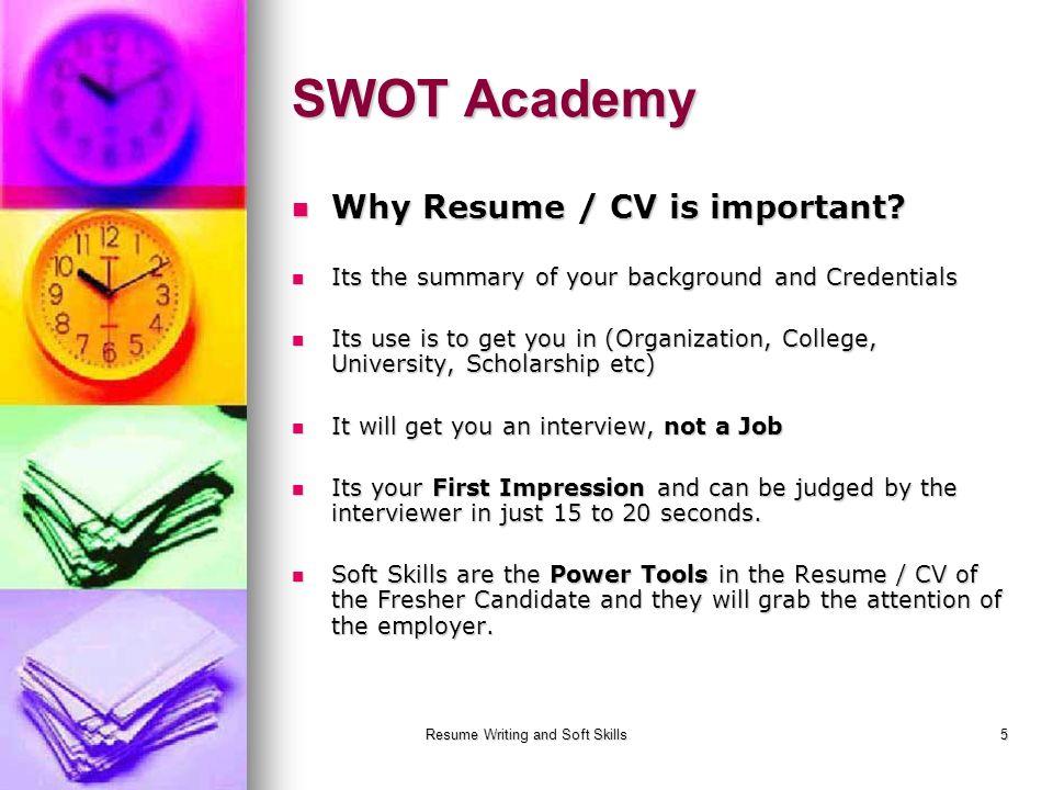 5 Resume ...  Resume Soft Skills