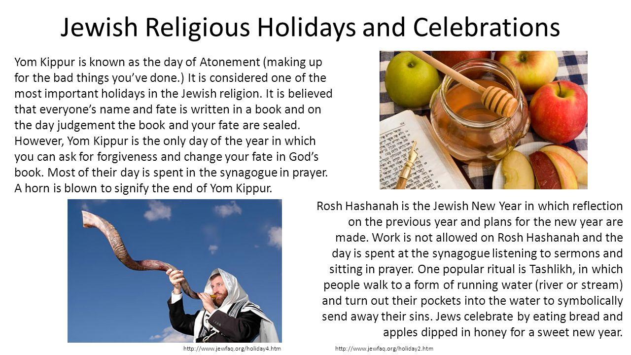 religious holidays